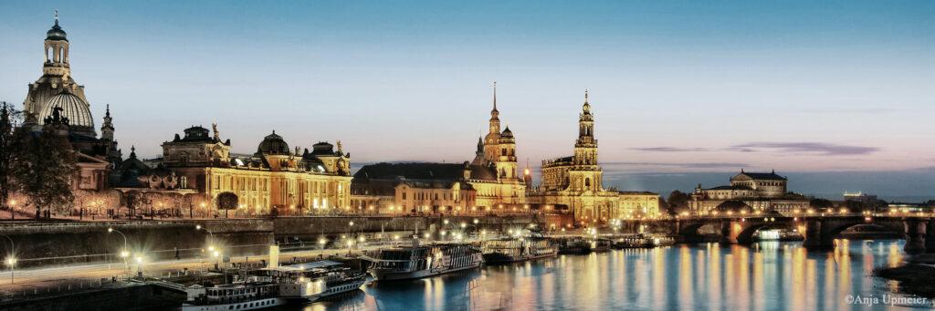 Skyline Dresden von Upmeier, Anja - Oper Dresden